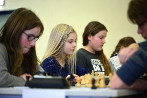 Mädchen-Team der Springerklasse 5f