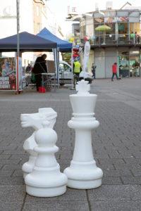 Freiluft-Schach