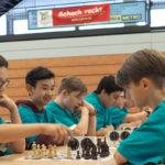 Wellenreiten beim NRW Schulschach-Cup